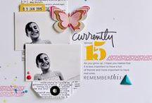 Scrapbook Inspiration / inspiring scrapbook pages and ideas
