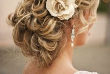 bridal beauty / wedding hair and make-up