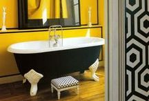 Black Clawfoot Tubs / Browse some design ideas for your bathroom. Once you go black, you'll never go back! / by Boutique Baths Pty Ltd