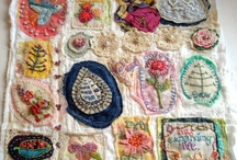 Stitchery / things to stitch with yarn and string and floss and needles