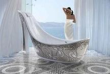 Luxury Bathrooms / Luxury Bathrooms with fancy claw foot baths / by Boutique Baths Pty Ltd