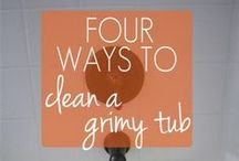 Cleaning & Organizing House / Ideas to keep a well-run home.