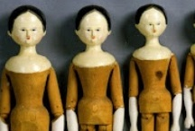 Dolls--Peg woodens, tuck combs, Queen Anne / by Wendy Bethel