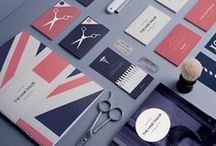 stationery suite / A collection of letterheads, envelopes, and thank you cards.