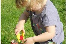toddler play + craft