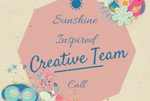 Sunshine Inspired Designs - Creative Call / All Creative Team Call Announcements at Sunshine Inspired Designs  / by Ania Kozlowska-Archer