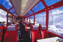 Switzerland by Train / What would your #GrandTrainTour of #Switzerland look like? Here we've put together a few of our favorite ideas & train travel tips for one of Europe's most scenic destinations.