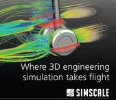 Engineering Simulation / CAE / Post-processing images of engineering simulations performed with SimScale.