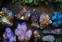 ❥ Crystals + Minerals / For my love of Crystals and Minerals