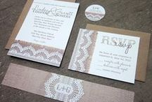 Creative Invites / fun ideas for invitations, programs, save the dates or other paper elements of your wedding!
