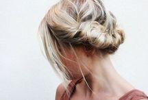 Hair. /
