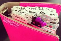 Filofax and Planners / by Francie