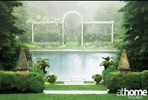 Gorgeous Gardens / Whether they have perfect parterres or a more natural elegance, these lovely landscapes will have you green with envy. / by athome Magazine