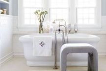 Soak It Up in these Baths / Don't throw in the towel on bathroom design ideas. We've got the best bathtubs, bathroom vanities, tile and accessories right here! / by athome Magazine