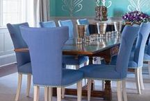 Dining Room Designs / Dishy design ideas for dining rooms, from dining room sets and tables, to dining chairs, lighting, and more.