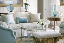 Luxurious Living Rooms / Living room design ideas: Sofas, chairs, wall coverings, lighting, and spaces full of light, color and life. / by athome Magazine