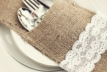 Burlap and Lace / by April Brover