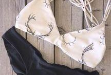 Biquinis e maiô / Essa é a moda do verão haha
