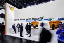 MC² Corporate Exhibits / MC² exhibits at EXHIBITOR and Euroshop shows in Las Vegas and Germany.