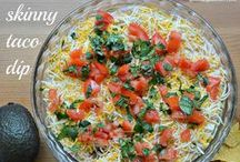 Healthy Party Dishes and Menu