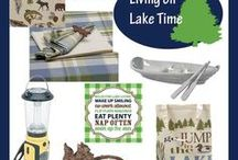 Lake Cabin Entertaining Things / Lake Theme Decor and Entertaining