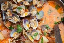Scallops, Clams, Mussels & Oysters