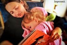 Frumusețea de a Citi  Împreună / The Beauty of Reading Together...a collection from our Facebook Page.