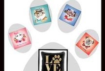 Pet Lovers / For all those pet lovers are table linens, tote bags and home decor.