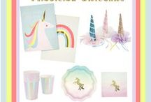 Magical Unicorn Party / Unicorn Theme Party Supplies and Gifts