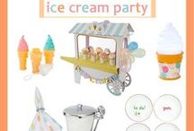 Ice Cream Party / Ice Cream Party Items and Tableware