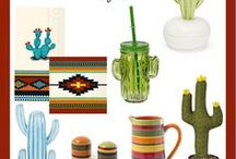 Southwest Style / Party and Home Decor with a Southwestern style.