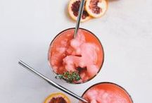 drinks and cocktails / This board is for beautiful craft cocktails made with gin, vodka, tequila, fresh juice, fresh fruit and neutral spirits. Also bubbly cava and prosecco-based spritzers for everyday celebrating. And negroni cocktails!