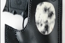 Stallion Leather Concealed Carry Holsters / Top grain leather concealed carry holsters. All  holsters are 100% Made in the USA! Call 414-764-7126. Visit www.stallionleather.com / by Stallion Leather