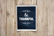 fall & thankful stuff / fall and thanksgiving projects and ideas / by keri bassett {shaken together}