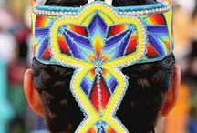 Beading Inspiration / Native American, Indigenous, Native Indian Beadwork & Designs.  Designs that inspire me or caught my eye.  Keep on crafting. :) / by Maura Abrams