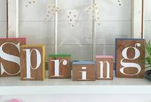 All Things Spring / Crafts, home decor, projects, printables, recipes and more to celebrate Spring!
