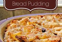 Bread Pudding  & Brûlée & Pudding  / by Shelly Gonczar