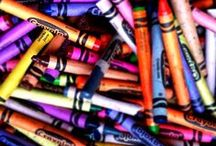 Color my life in Crayon / by Harley Quinn