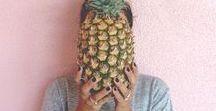 Piñas / Nos declaramos fans de esta fruta taaaan veraniega!
