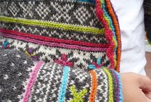 Knitting inspiration / Ideas for patterns, colour schrmes and projects. Scandinavian and Fair Isle