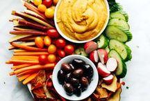 vegetable recipes /  Healthy vegetable recipes in every color. #vegan #vegetarian #vegetables