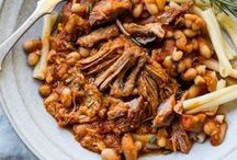 slow cooking recipes / Delicious recipes for the oven, Dutch oven, slow cooker. Meat, poultry, vegetarian stews and braises.