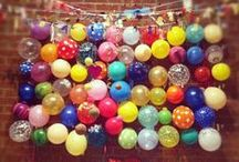 CREATE: CELEBRATIONS / Fun and colourful things for celebrations... and dull days that need brightening up