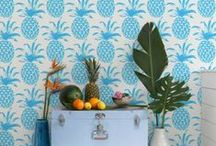 HOME: WALLPAPER / Wallpaper from florals to geometric - if only I had more walls!