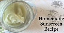 Natural Beauty Recipes / Recipes for natural, homemade beauty products