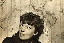 Earhart / We must be on you, but cannot see you. Gas is running low. / by Amelia Batchelor