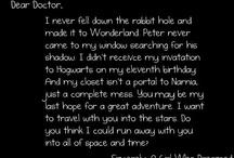 Doctor Who Stuff! / by Shelbie Ferguson