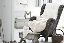 have a seat / comfy, cozy, chairs & sofas! / by Jillian Stinson