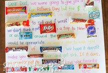 ~Candy Bar Posters~ / Candy Bar Posters for all occasions: Birthday, Anniversary, Valentine's / by Alisa Sauceda Lemons