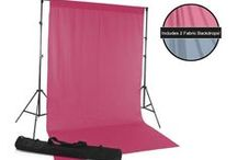 Studio Background Kits / Bundle up to 3 backdrops with a floor drop or stand and save up to $35 from Backdrop Express! These kits are great options for photographers just starting their studio or looking to complete it! / by Backdrop Express